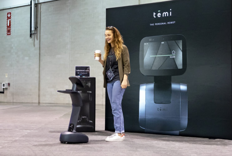 temi personal robot at LiveWorx