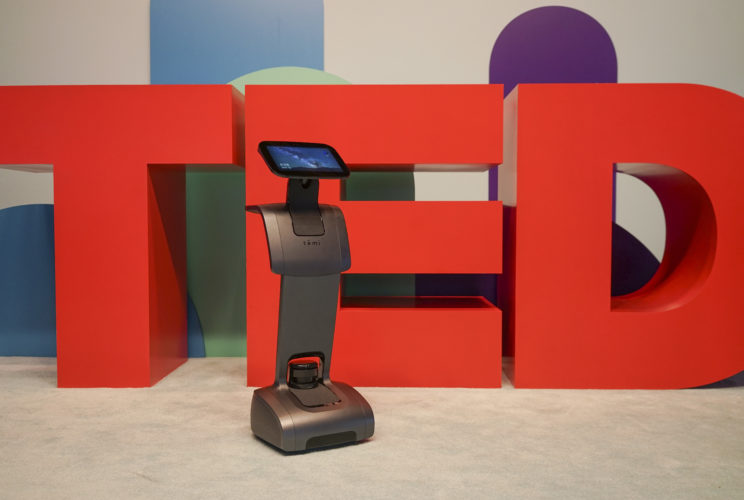 Temi at TED